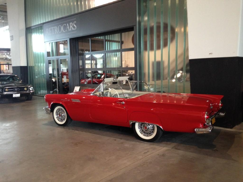 Ford Thunderbird 1957 von uns aus Californien importiert und verkauft