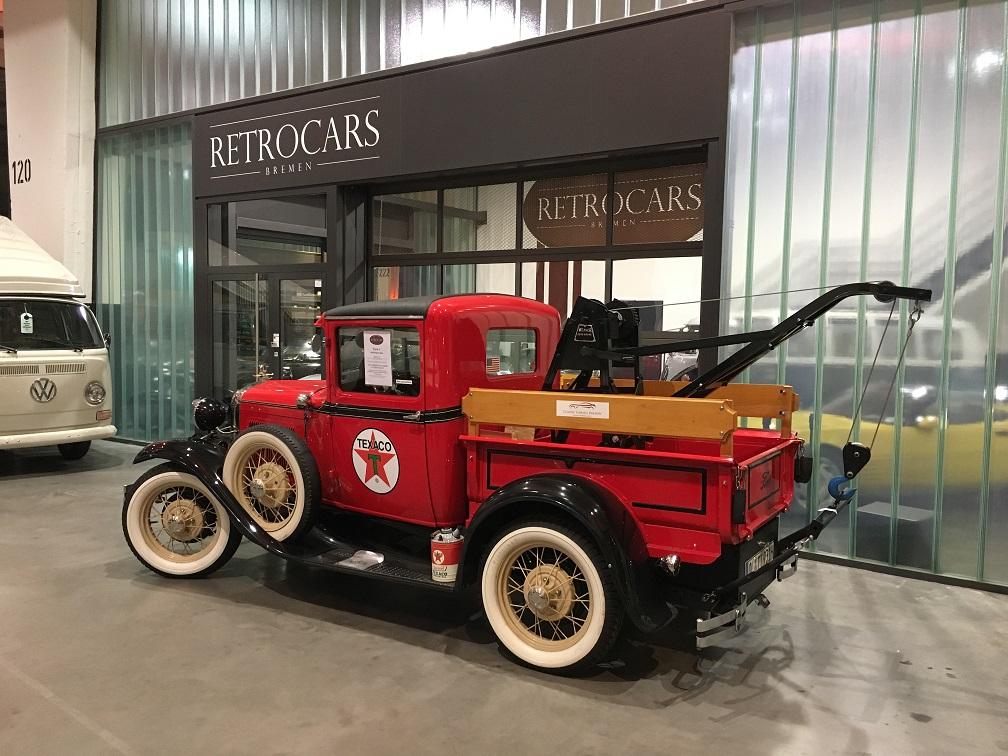 Ford A 1931 Abschleppwagen aus Californien importiert