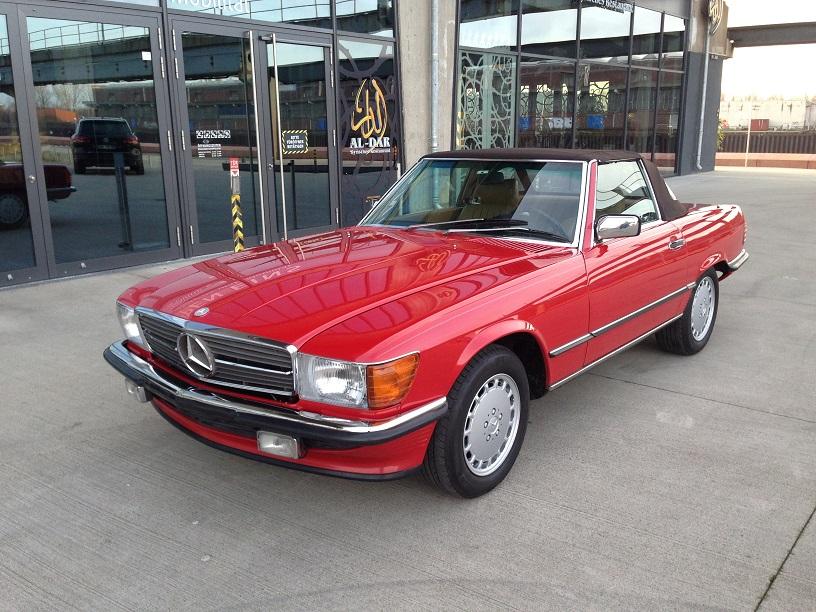 Mercedes SL 1987 in einem einmaligen Zustand verkauft