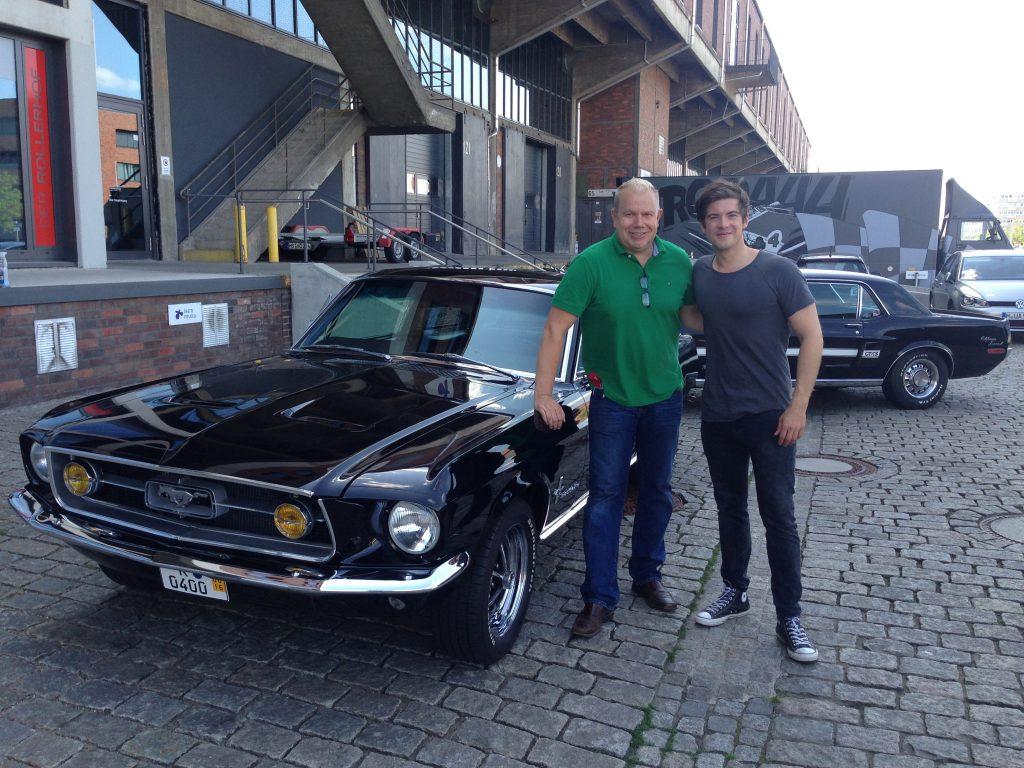 Ford Mustang Fastback 1967 verkauft an den Schauspieler Phillip Danne