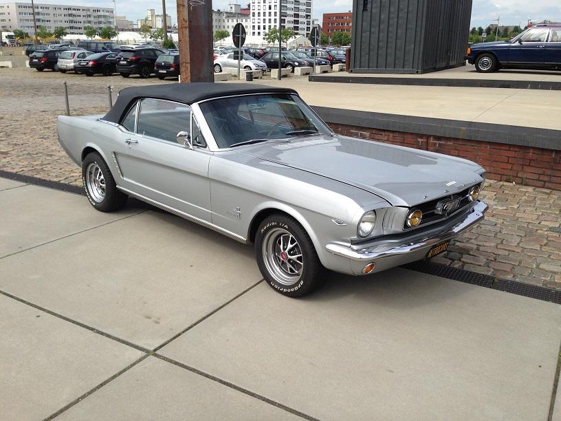 Ford Mustang GT 1965 Convertible von uns restauriert